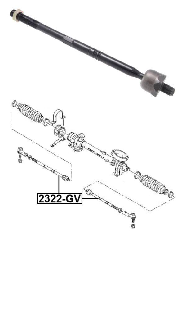 Steering Tie Rod Febest 2322-GV