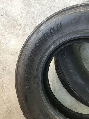 Bridgestone 295/75R22.5 for Sale in Grand Prairie, TX