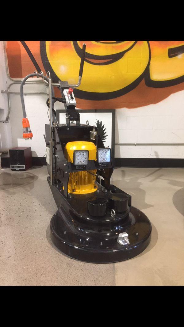 Genie Floor Scrubber and Burnisher