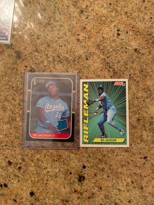 2 Bo Jackson baseball Cards for Sale in Claremont, CA