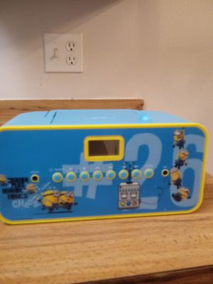 Despicable Me portable Sing A Long,C.D player for Sale in Orlando, FL