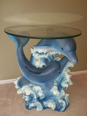 Coffee table or nightstand Dolphins Collectible. for Sale in Hayward, CA
