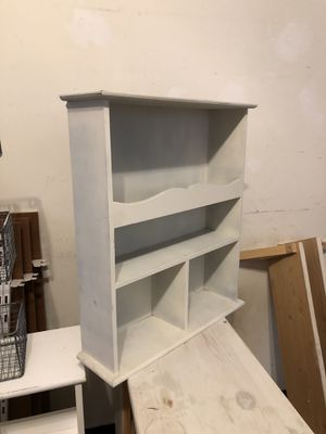 Small shelf cabinet for wall for Sale in Paoli, PA
