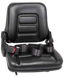 BRAND NEW Universal Adjustable Forklift Seat with Safety Belt, Full Suspension Seat Replacement for Heavy Mechanical Seat for Sale in Los Angeles, CA