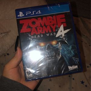 PS4 Zombie Army Dead War 4 Game for Sale in Irwindale, CA