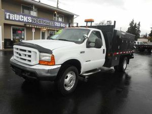 2000 Ford F450 Flatbed for Sale in Roy, WA