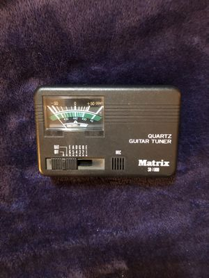 Matrix SR-1000 Quartz Guitar Tuner for Sale in San Diego, CA