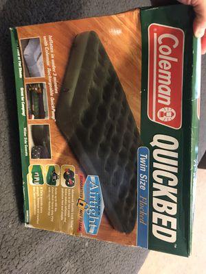 Coleman Quickbed air mattress for Sale in McKinney, TX