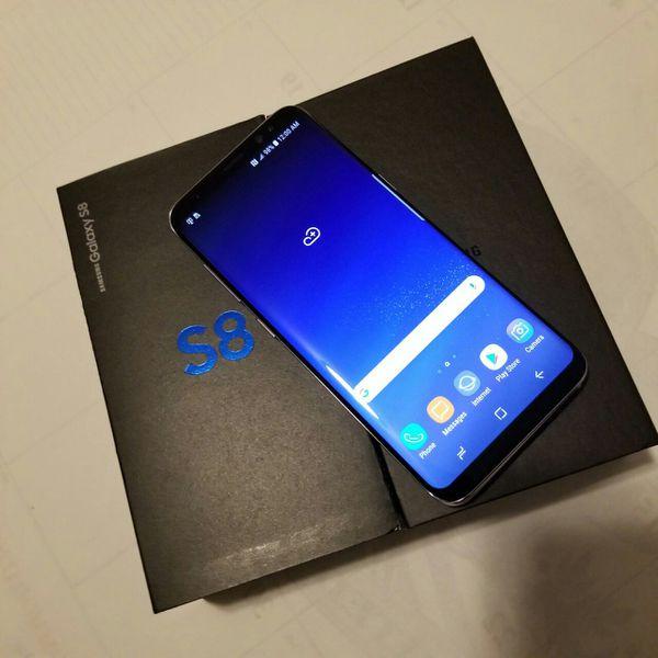 Samsung Galaxy S8, Factory Unlocked