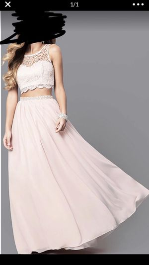 2 piece prom dress pink for Sale in Irving, TX