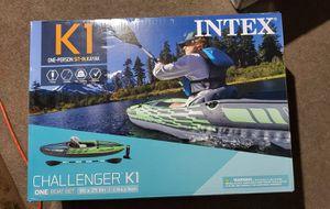 Intex Challenger K1 Kayak for Sale in Grand Rapids, MI