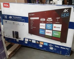 "75"" TCL roku smart 4K led uhd hdr tv for Sale in Pomona, CA"