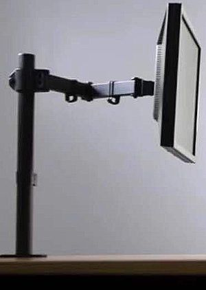 NEW 10 to 27 inches Single computer screen monitor holder stand clamp mount for Sale in Los Angeles, CA