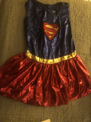 Supergirl Extra Large Dog Costume for Sale in Riverside, CA
