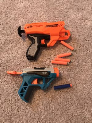 Nerf Guns - accustrike quadrant and bowstrike for Sale in FL, US