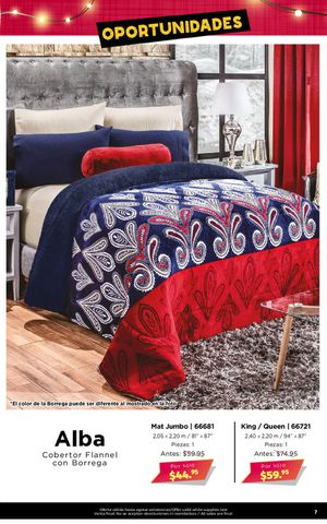 """""""ALBA"""" Cobertor Flannel con Borrego/ Flannel Blanket with Sherpa for Sale in Lansing, IL"""