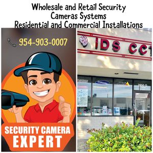 Security Cameras Expert - Installations for Sale in Hollywood, FL