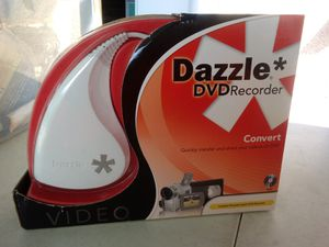Dazzle DVD Recorder HD VHS to DVD Converter for Windows PC for Sale in Fort Meade, FL