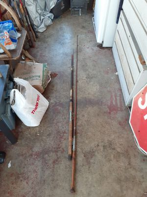 2 fishing rods for Sale in Covina, CA