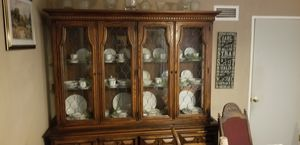 Antique China cabinet for Sale in San Bernardino, CA