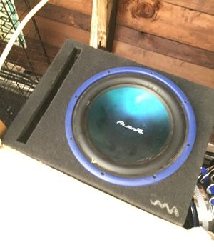 Subwoofer with nobody works great ; for Sale in El Cajon, CA