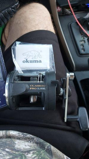 OKUMA classic pro CL 302L fishing reel for Sale in South Gate, CA
