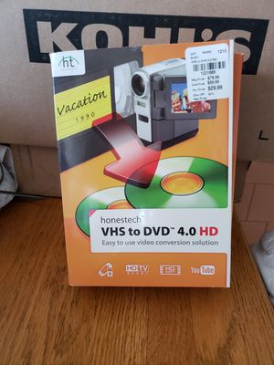 VHS to DVD maker 4.0 for Sale in Getzville, NY