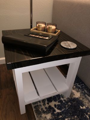 Farm house style side table for Sale in Tacoma, WA