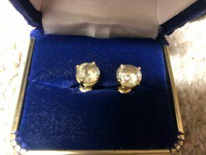 DIAMOND EARRINGS worth $10k for Sale in Dallas, TX
