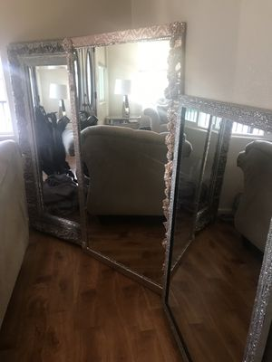 3 large Hollywood glam mirrors for Sale in Fremont, CA