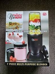 Twister Nuwave 7 pieces blender set for Sale in San Jose, CA