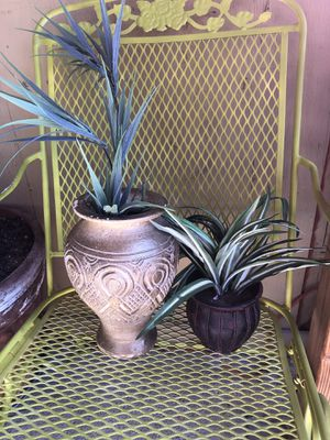 Small fake plants set for Sale in Henderson, NV
