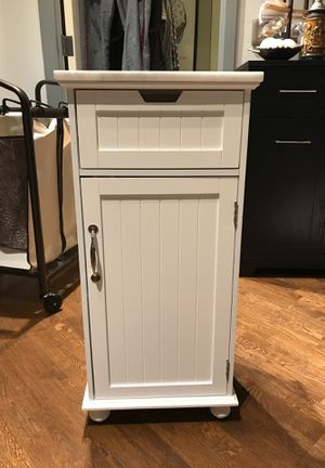 Storage Cabinet with Marble Top for Sale in Chicago, IL