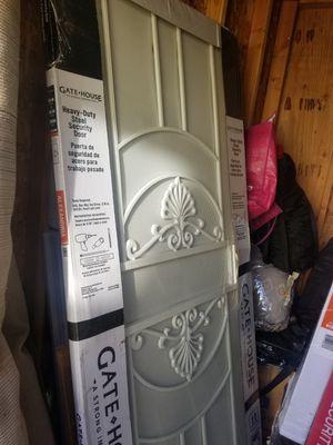 Alexandria Almond Steel Security Door for Sale in Seattle, WA