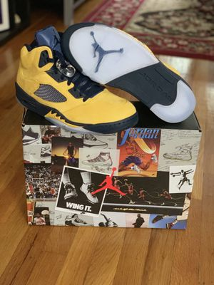 Air Jordan 5 Retro SP Michigan for Sale in Queens, NY