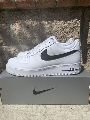 Nike Air Force low 07 white and black for Sale in Oakland, CA
