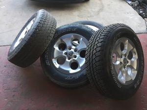 2008 Jeep Wrangler JK 5 wheels and tires !!! for Sale in Richmond, VA
