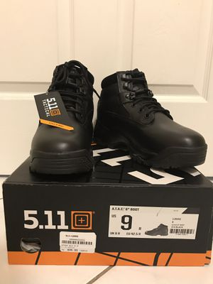 """5.11 ATAC Tactical 6"""" Boot Men's Size 9 for Sale in Jackson, NJ"""