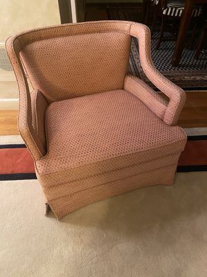 Upholstered chair for Sale in Needham, MA
