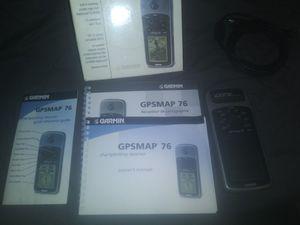 LIKE NEW Garmin gpsmap76 for Sale in Lincoln Park, MI
