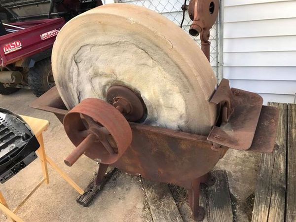 Antique Grinding Stone Sharpening Wheel For Sale In Dallas Tx Offerup