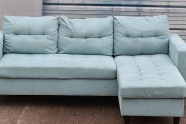 Foam Pad Sectional Couch FREE DELIVERY for Sale in Houston,  TX