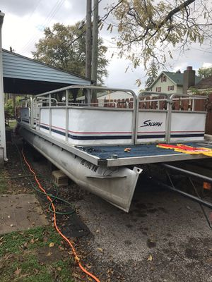 1991 sylvan 24ft pontoon boat for Sale in Columbus, OH