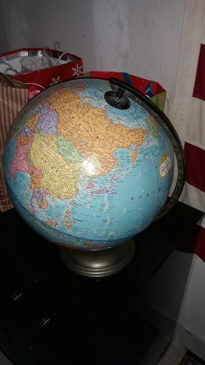 Spinning world globe for Sale in Houston, TX