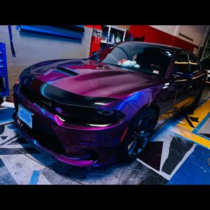 Custom wraps, headlights/taillights tints, Interior/exterior LEDs, rims and calipers paint, chrome delete, and more. for Sale in Alexandria, VA