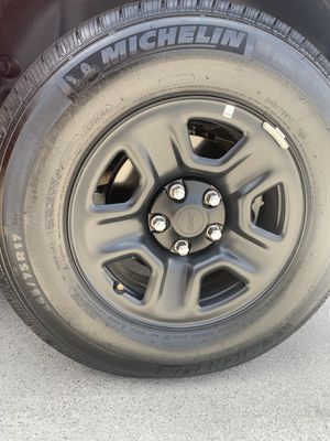 Tires / Michelin/ black rims for Sale in Chula Vista, CA
