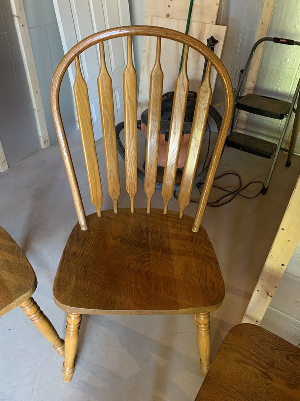 Table And Three Chairs Free