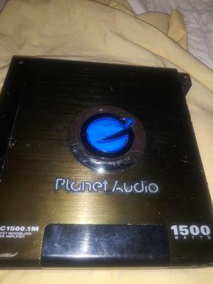 Planet Audio 1500 WATT Amplifier for Sale in Gilroy, CA