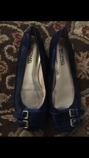 Michael Kors Womens Dress Shoes - Blue Flats - size 6 for Sale in Renton, WA