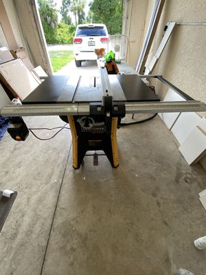 Craftsman pro table saw for Sale in Lehigh Acres, FL